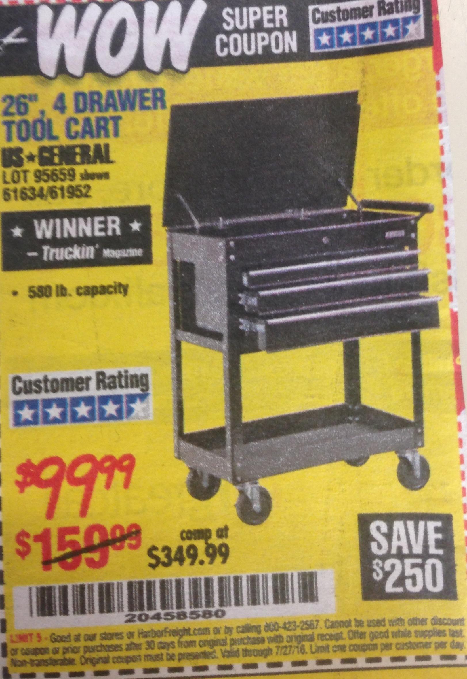 Cart coupons