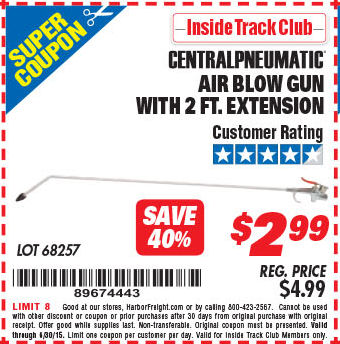 Extension for coupons