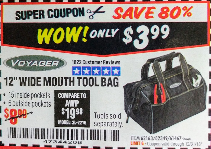 Harbor Freight 12