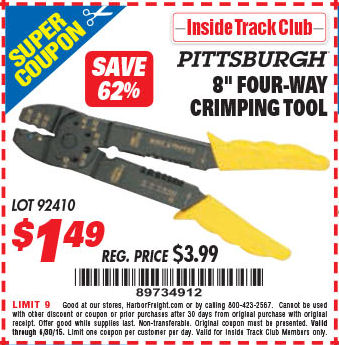 harbor freight tools coupon database free coupons 25 percent off coupons toolbox coupons 8. Black Bedroom Furniture Sets. Home Design Ideas