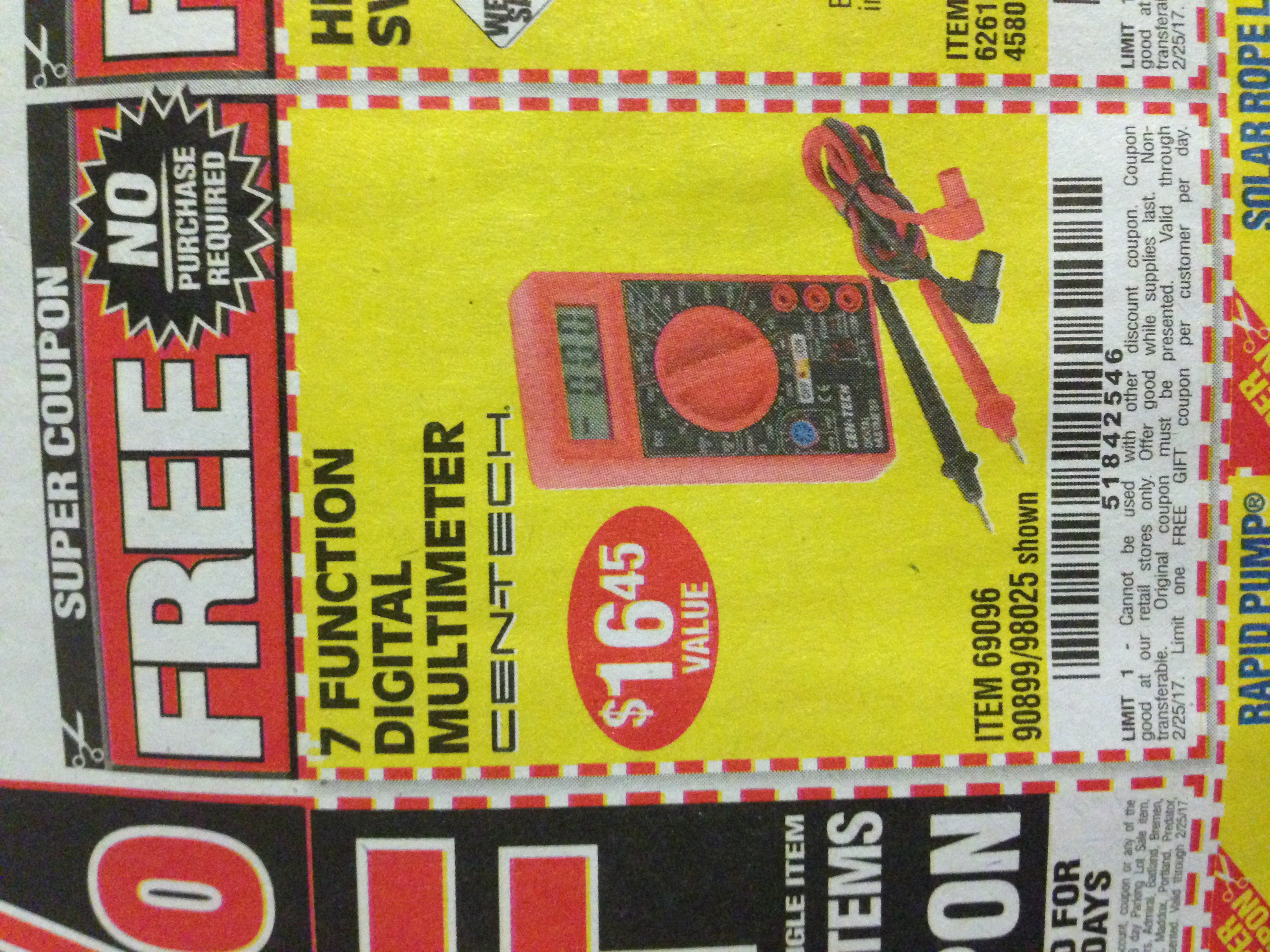 Coupon harbor freight free shipping