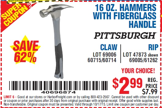 handles coupons