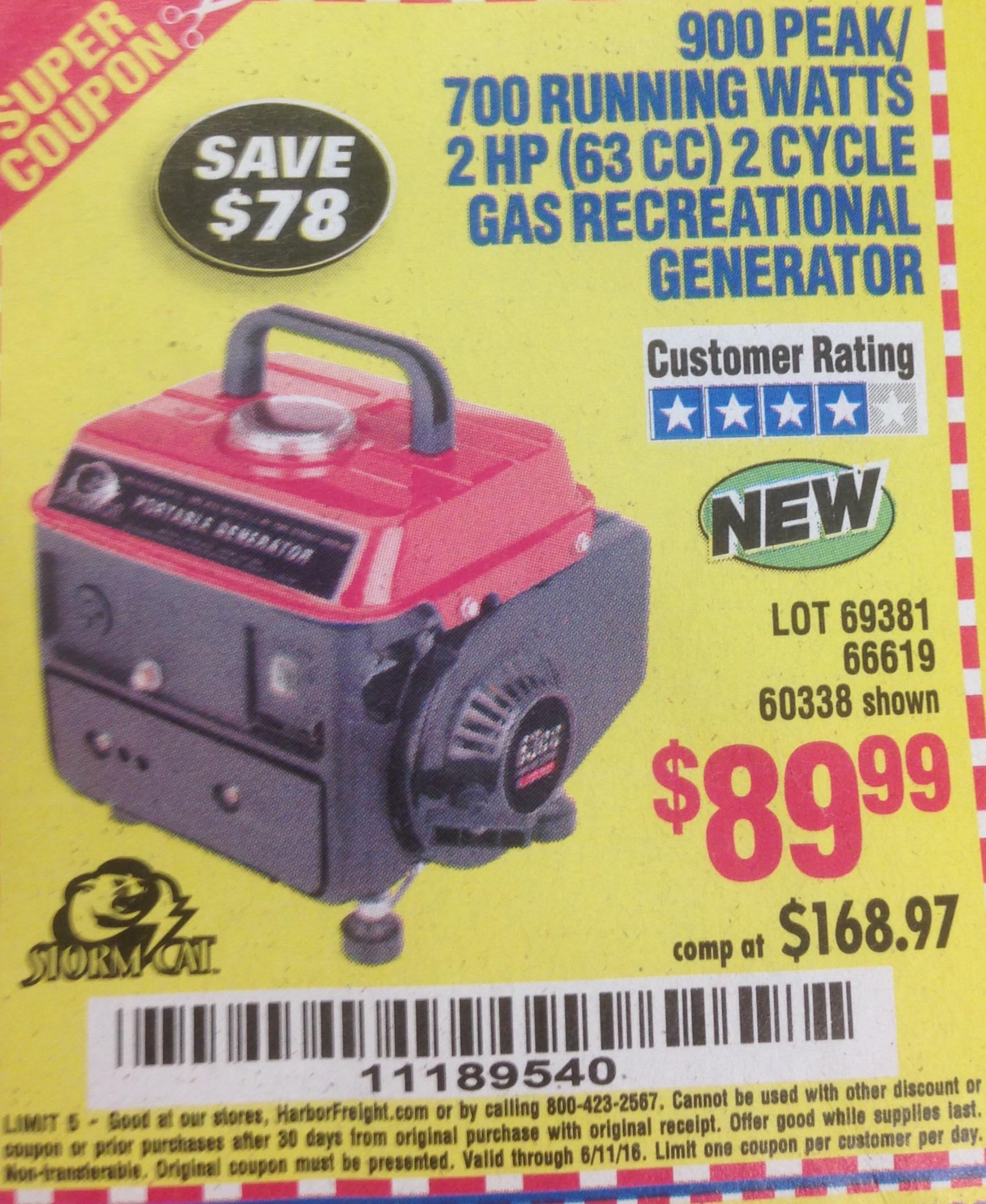 Coupons generators