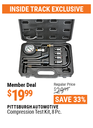 Harbor Freight 8 PIECE COMPRESSION TEST KIT coupon