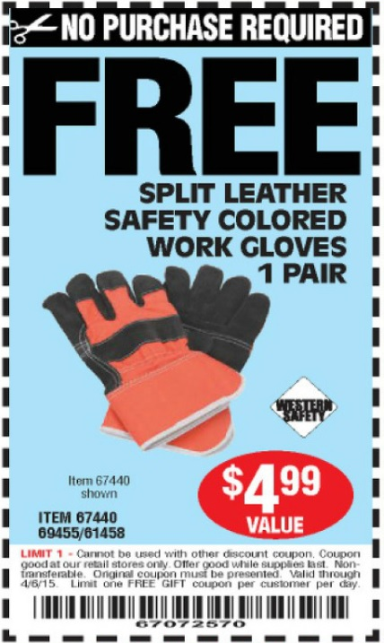 Discount safety gear coupon