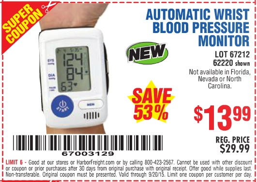 These numbers combine to give you your blood pressure reading (systolic over Free Rx Shipping · Weekly Online Deals · Save 10% Auto Reorder.