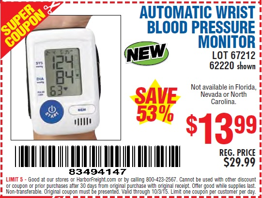 Almost all Walgreens pharmacies have one of these BP monitors installed somewhere on-site, and customers will routinely find their local Walgreens blood pressure monitor located somewhere near the front of the pharmacy and close to the pharmacy cash register.