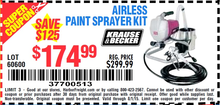 By Photo Congress || Harbor Freight Paint Sprayer Coupon