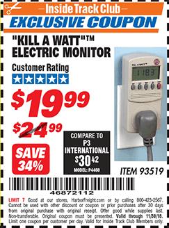 www.hfqpdb.com - KILL A WATT ELECTRIC MONITOR Lot No. 93519