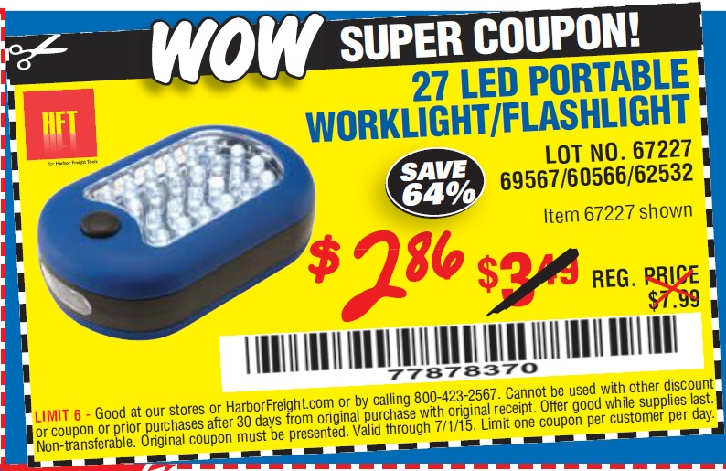 flashlight coupon