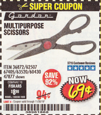 www.hfqpdb.com - MULTIPURPOSE SCISSORS Lot No. 47877/67405/60274/62507