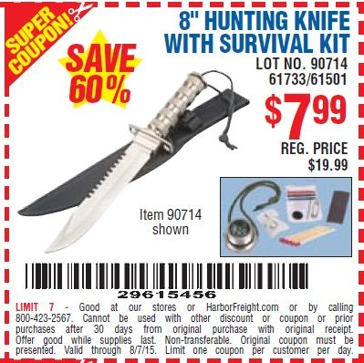 Discount cutlery coupon