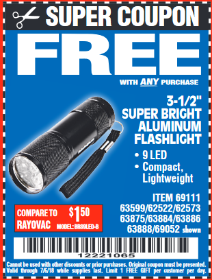 Harbor Freight 3-1/2