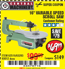 Harbor Freight 16