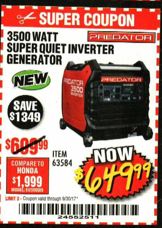 Similiar Harbor Freight Generator Coupons Keywords