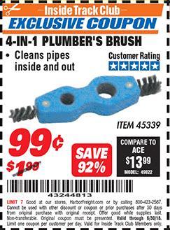 www.hfqpdb.com - 4-IN-1 PLUMBER'S BRUSH Lot No. 45339