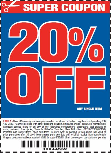 Harbor Freight 25 Off Coupon | 2017 - 2018 Best Cars Reviews