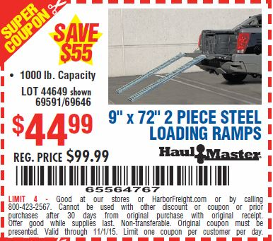 Discount ramps coupon free shipping