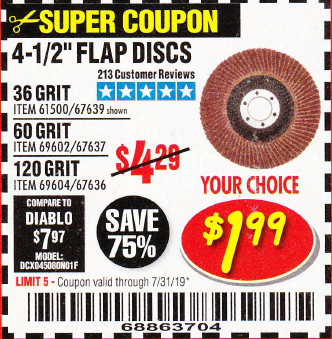 Harbor Freight 4.5