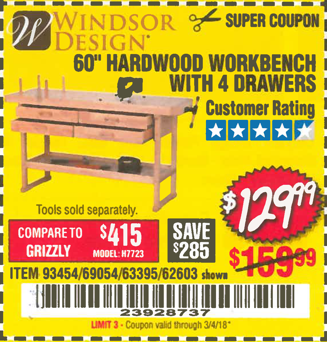 Current harbor freight coupons