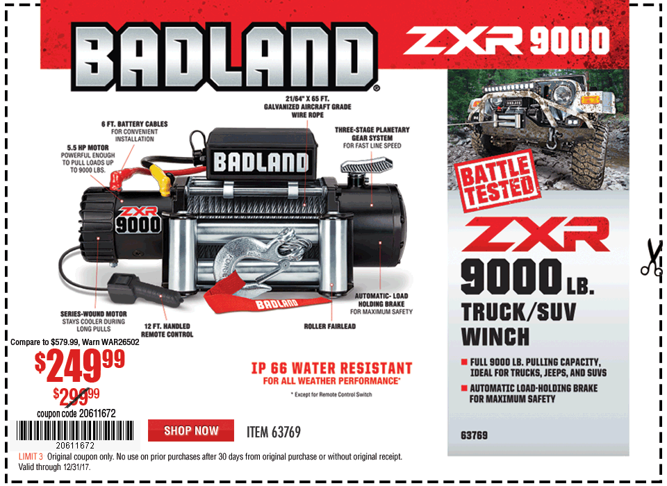 Badland (Harbor Freight) winch - Page 2 - Jeep Wrangler Forum on harbor freight discount winch, ramsey 8000 lb winch, harbor freight 9000 lb winch, harbor freight winch remote control, harbor freight 12000 winch, harbor freight hand winch, harbor freight electric winch, harbor freight boat winch, harbor freight atv winch, harbor freight winch truck, harbor freight winch plate, harbor freight cable winch, 12 volt winch, harbor freight winch wiring kit, harbor freight 3000 lb winch, warn 12 000 lb winch, harbor freight 5000 lb winch, 2000 lb winch, harbor freight winch 120v, trailer winch,