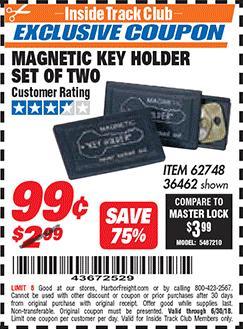 www.hfqpdb.com - MAGNETIC KEY HOLDER SET OF TWO Lot No. 62748/36462