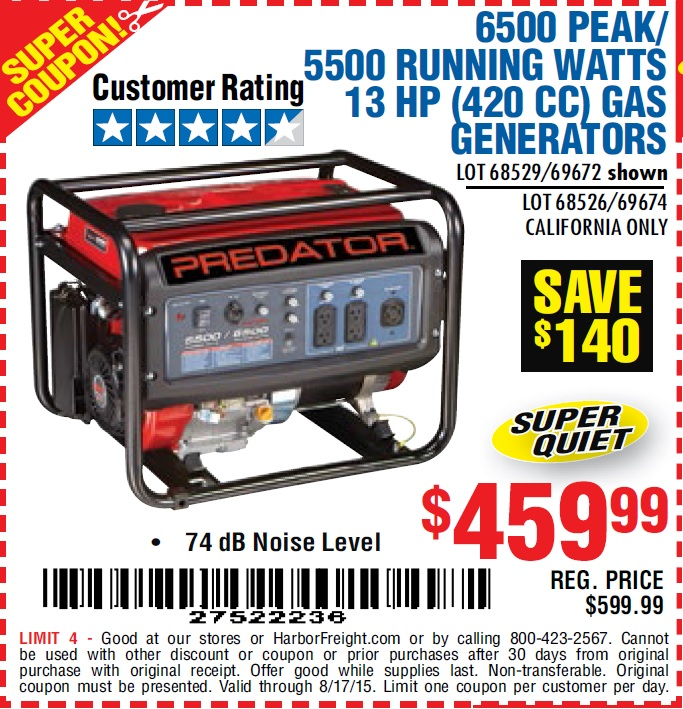 26 Generator Factory Outlet coupons, including Generator Factory Outlet coupon codes & 24 deals for November Make use of Generator Factory Outlet promo codes & sales in to get extra savings on top of the great offers already on spiritmovies.ml
