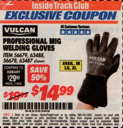 www.hfqpdb.com - PROFESSIONAL MIG WELDING GLOVES Lot No. 63488