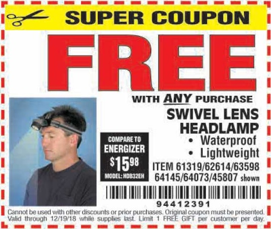 Harbor freight coupons 2019