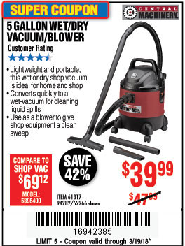 Harbor freight tools coupon database free coupons 25 for Harbor freight blower motor