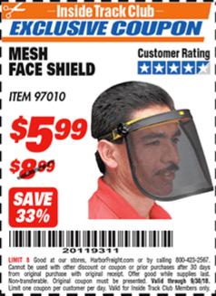 www.hfqpdb.com - MESH FACE SHIELD Lot No. 97010