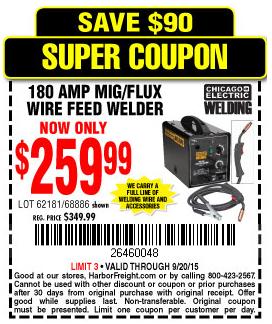 welder supply coupons