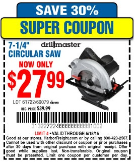 One inch round coupon code