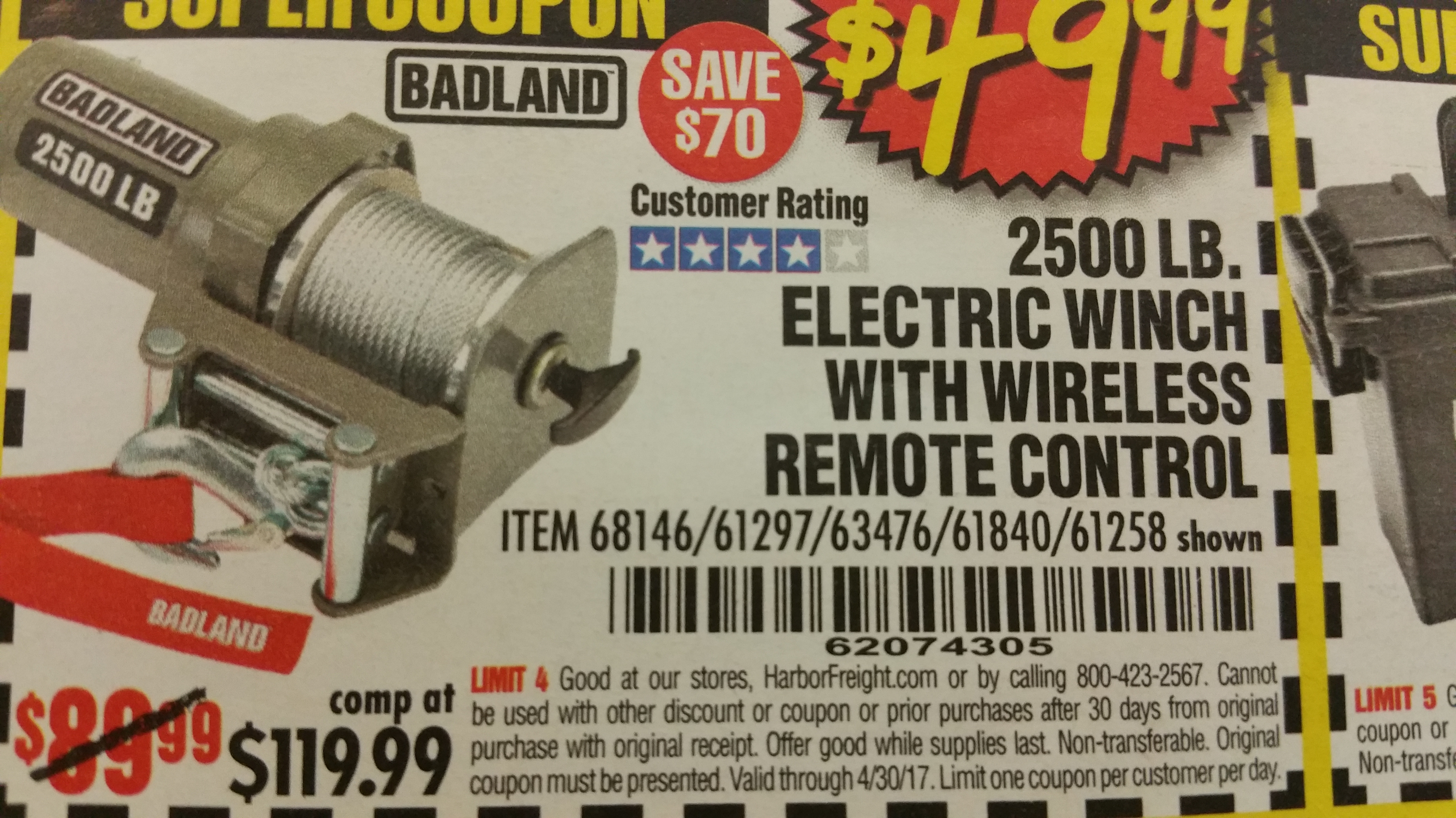 Harbor freight 2500 winch coupon / Berlin city nissan coupons