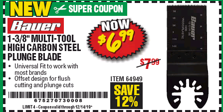 Harbor Freight 1-3/8