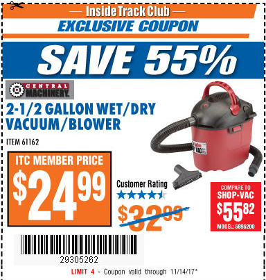 Harbor freight coupon 25 percent off 2018