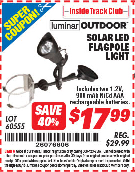 Harbor Freight Super Coupons Solar Coupons For Seven Peaks Slc