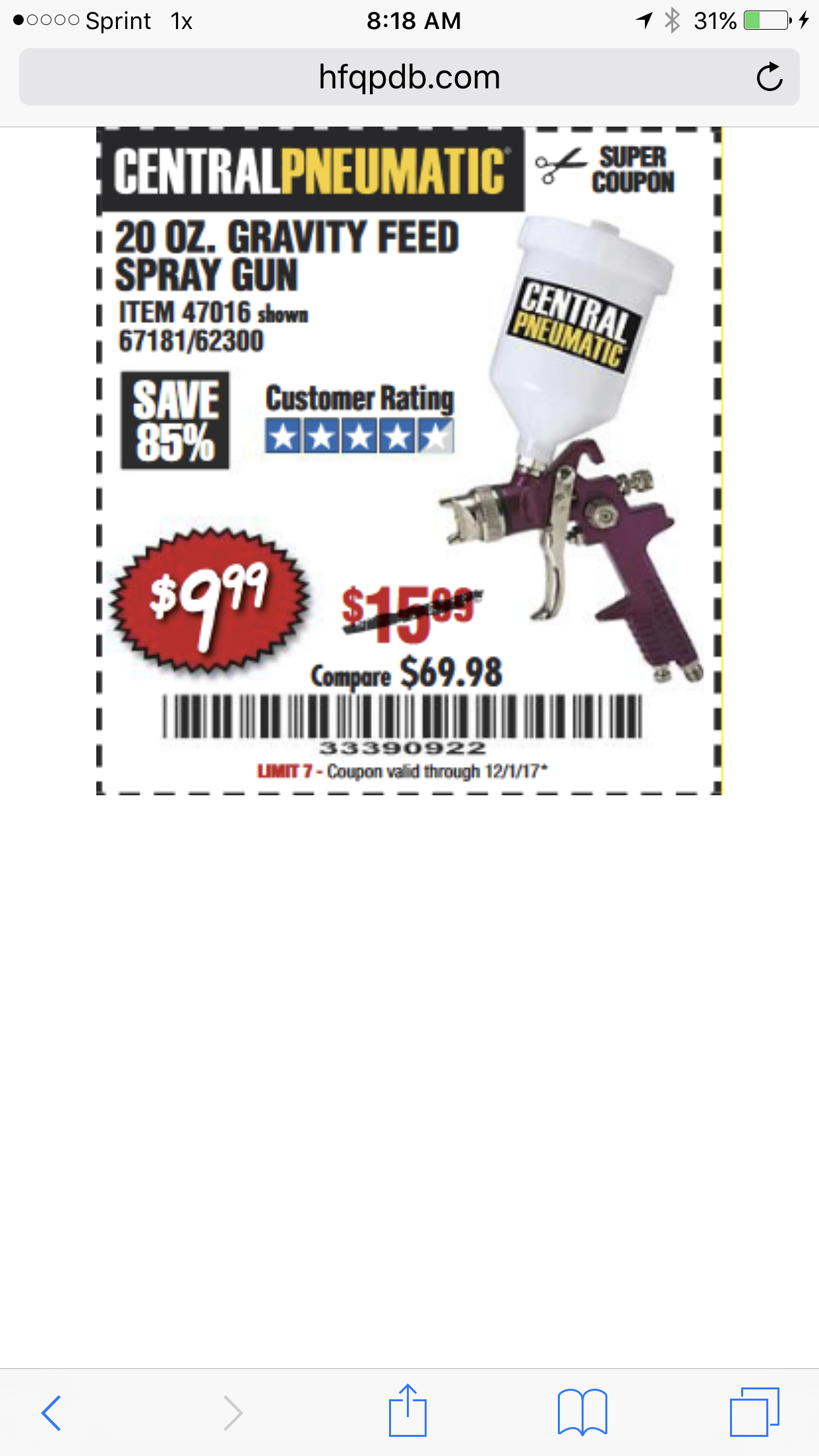 Oz discount coupons