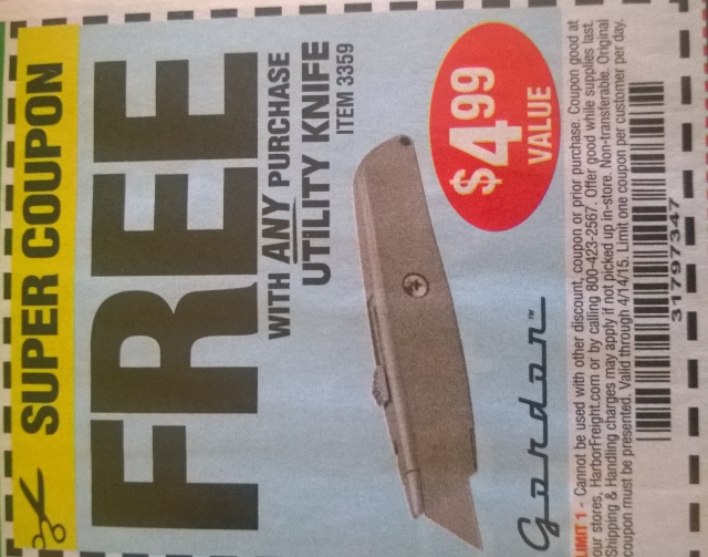 Knives ship free discount coupons