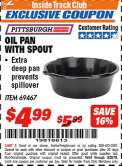 www.hfqpdb.com - OIL PAN WITH SPOUT Lot No. 69467/66000