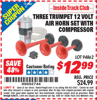 harbor freight air horn wiring diagram harbor freight ads