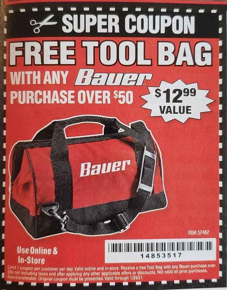 Harbor Freight BAUER 16