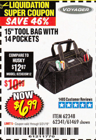 Harbor Freight 15