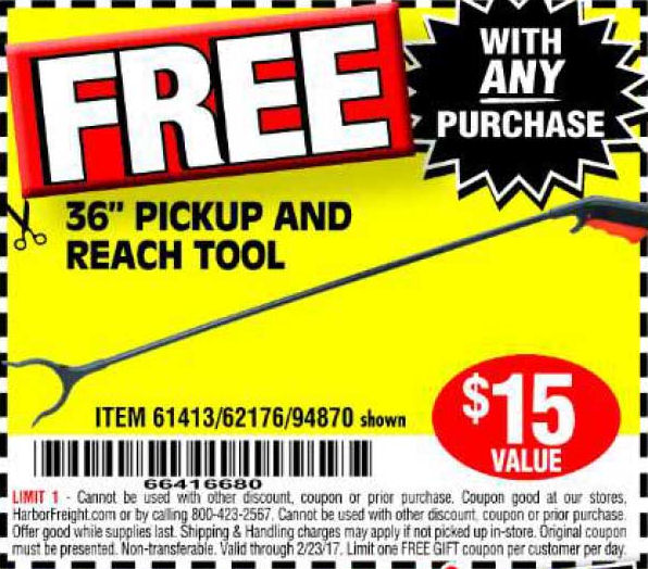 Reach coupons