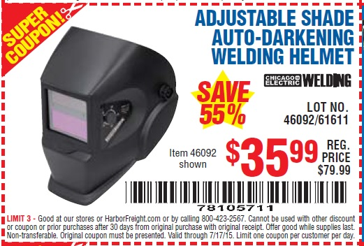 Harbor Freight Coupons Welding Helmet La Vie En Rose