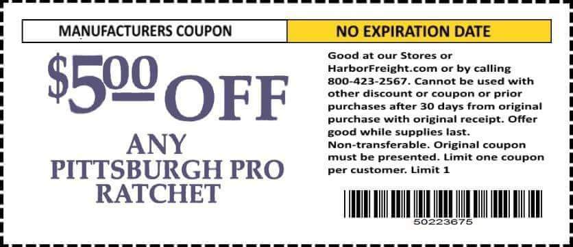 Harbor Freight coupon