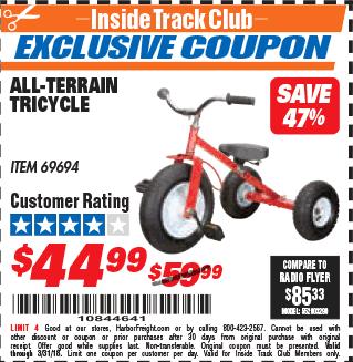 Terrain coupon code