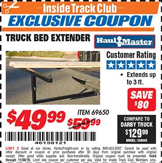 www.hfqpdb.com - TRUCK BED EXTENDER Lot No. 69650/45830