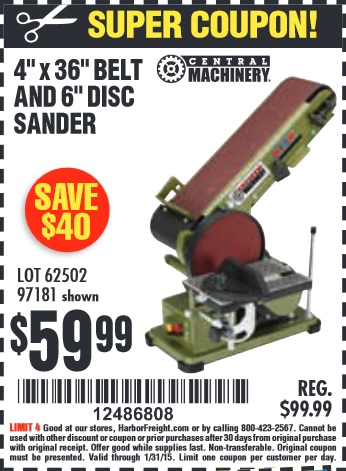 Harbor Freight Coupon Thread Page 360 The Garage Journal Board