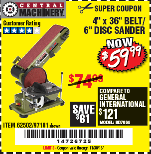 Harbor Freight 4